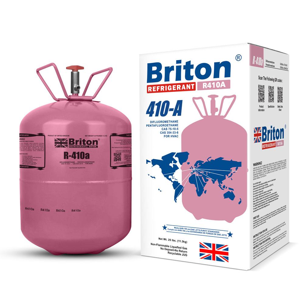 R410a Refrigerant Gas Briton