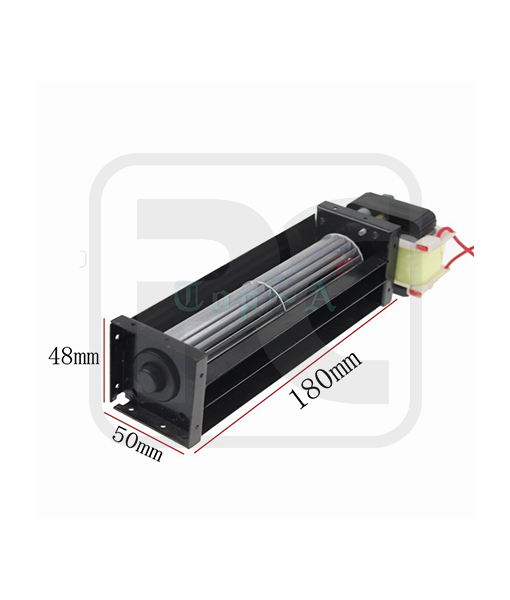 Compact Tangential Blower Cross Flow Cooling Fan With