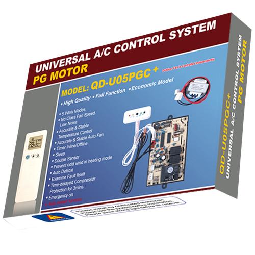 QD-U05PGC Universal Air Conditioner PCB Board with AC Remote Control System