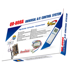 QD-U08A Universal Air Conditioner PCB Board with AC Remote Control System