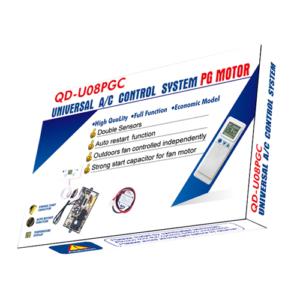 QD-U08PGC Universal Air Conditioner PCB Board with AC Remote Control System