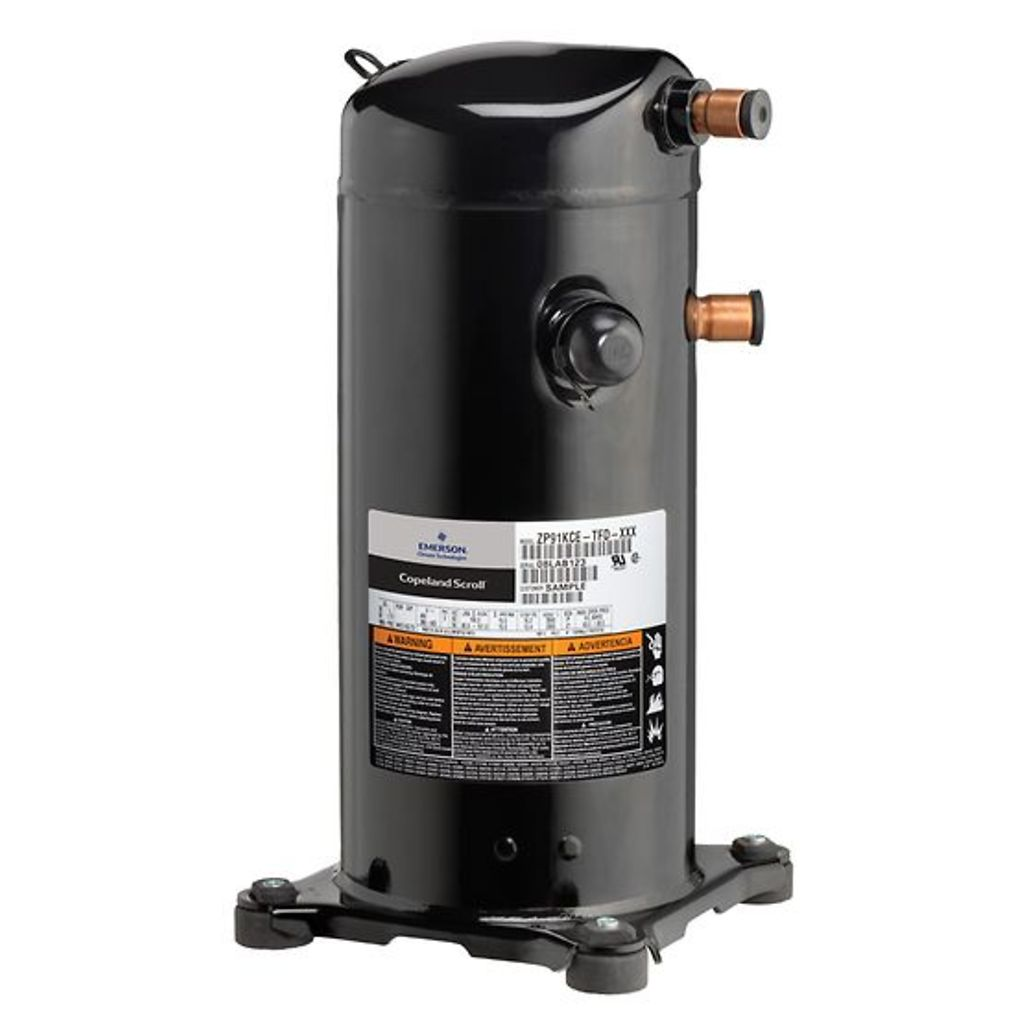 ZP54K3E-TFD-830 - Copeland Scroll™ Compressor 4-5 HP ZPK3 for Air Conditioning Dubai