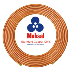 Maksal HVAC Copper Coils Pipes Standard Suppliers Dubai