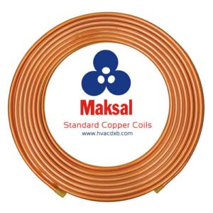 Maksal HVAC Copper Coils Pipes Standard Suppliers Dubai