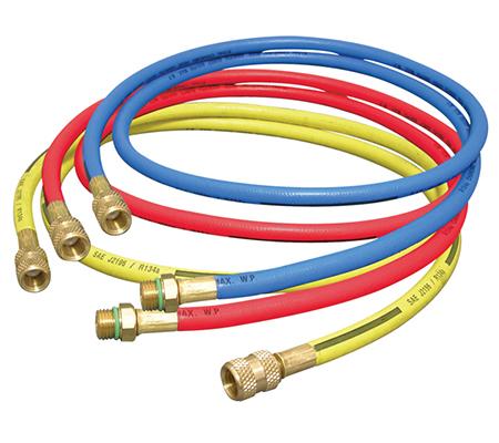 360RYB-L PNM Refrigerant Charging hoses R134a