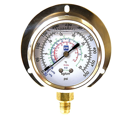 FRGBHGF PNM Blue Compound Oil Filled Gauge