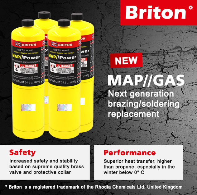 Briton Mapp Gas Suppliers in Dubai