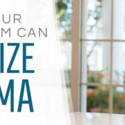 How can HVAC minimize asthma