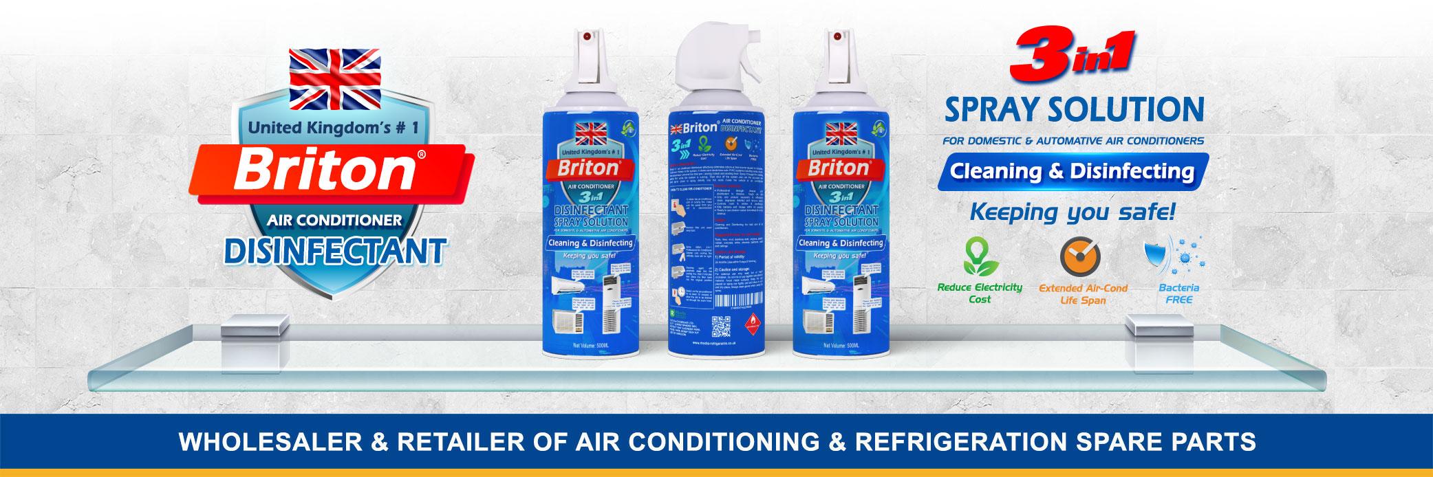 Briton Disinfectant Spray in Dubai